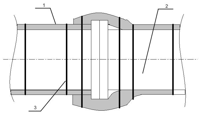 Технологический процесс монтажа огнезащиты на воздуховодах