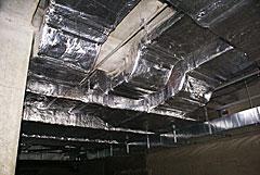 Компоненты комплексной огнезащиты воздуховодов «МБФ»